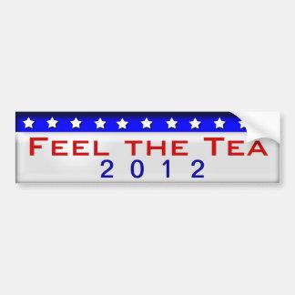 Feel the Tea Car Bumper Sticker