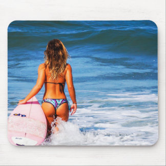 Feel the Wave by storeman Mouse Pad