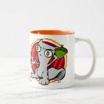 Feel the Wrath of my Nuts! Foamy Mug