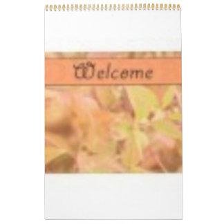 feel welcome calendar
