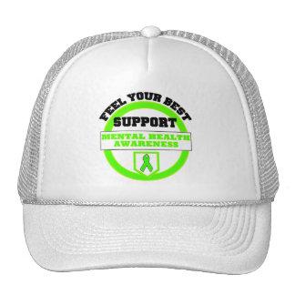 """""""Feel Your Best Mental Health Awareness"""" Caps Trucker Hat"""
