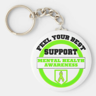 """""""Feel Your Best Mental Health Awareness"""" Keychains"""