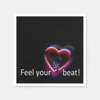 Feel your Heartbeat! - Paper Napkin