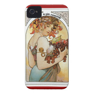 FEEL ZIN COMING...GIRL UNDER GRAPE ARBOR PRINT iPhone 4 Case-Mate CASES