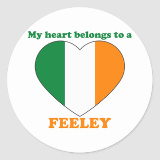 Feeley Classic Round Sticker