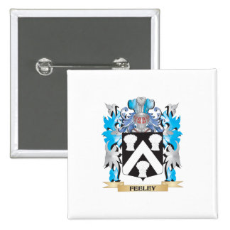 Feeley Coat of Arms - Family Crest Button