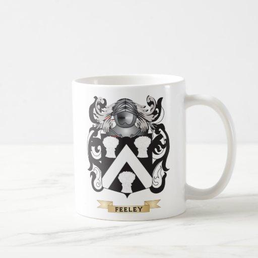Feeley Coat of Arms Mugs