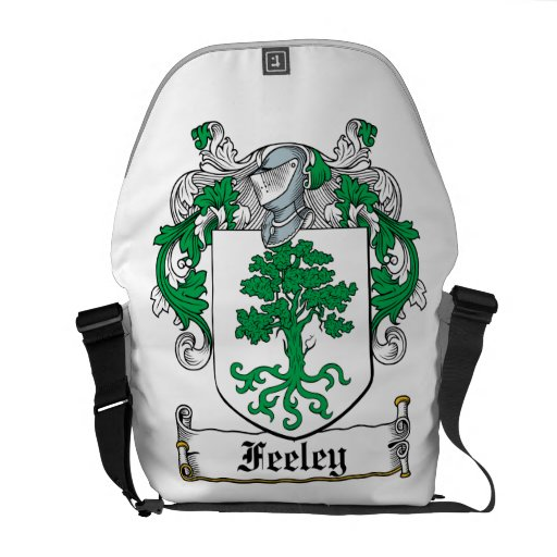Feeley Family Crest Courier Bag