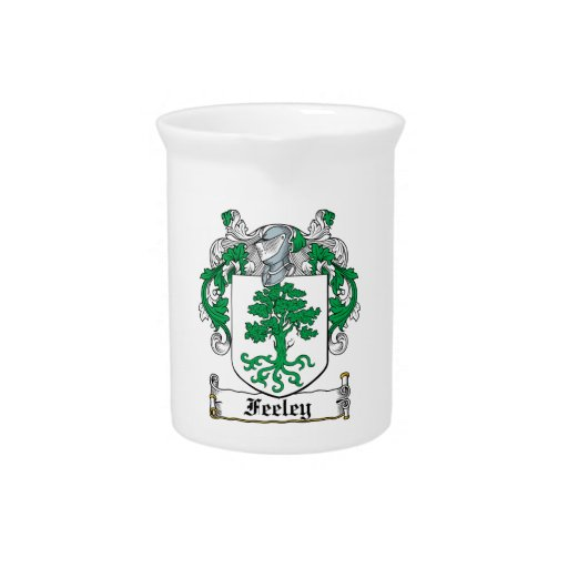 Feeley Family Crest Drink Pitcher