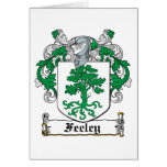 Feeley Family Crest Greeting Cards