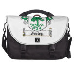 Feeley Family Crest Laptop Bags