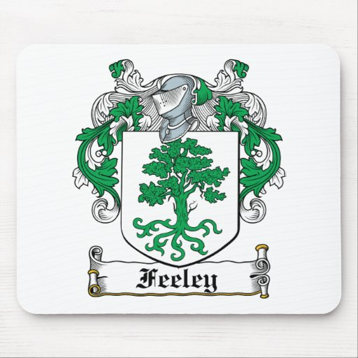 Feeley Family Crest Mouse Mats