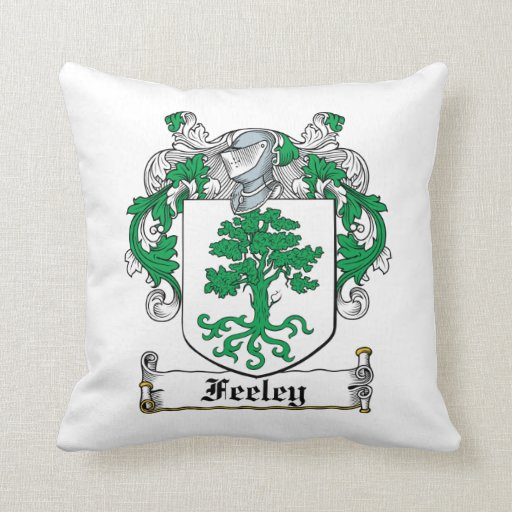 Feeley Family Crest Pillow