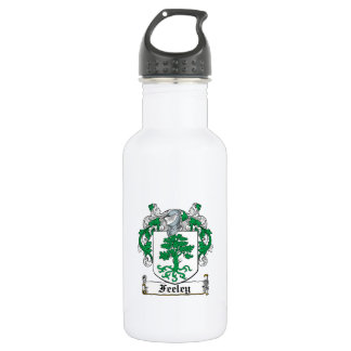 Feeley Family Crest Stainless Steel Water Bottle