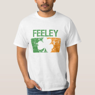 Feeley Surname Clover Shirts