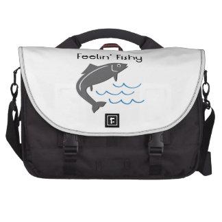 Feelin a pescado bolsas para ordenador
