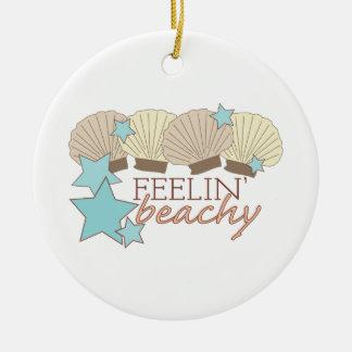 Feelin' Beachy Christmas Ornaments