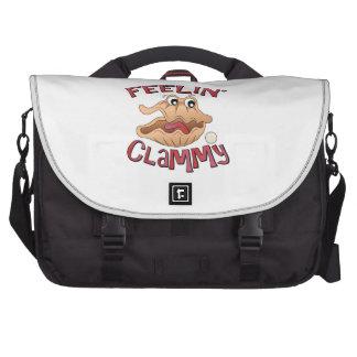 Feelin Clammy Laptop Bags