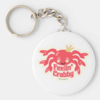 Feelin Crabby Cute Crab Keychain