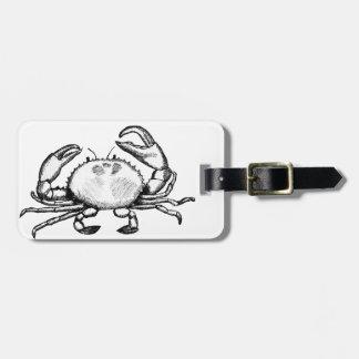 Feelin' Crabby Travel Bag Tag