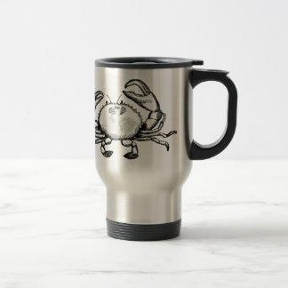 Feelin' Crabby 15 Oz Stainless Steel Travel Mug