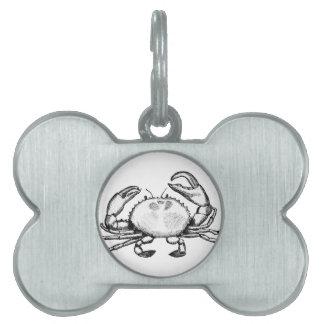 Feelin' Crabby Pet ID Tag