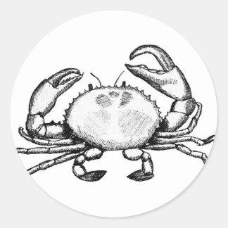 Feelin' Crabby Stickers