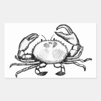 Feelin' Crabby Rectangle Stickers