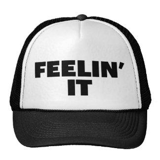 FEELIN ÉL gorra del camionero del lema de la