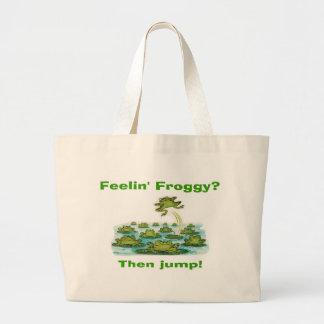 feelin froggy bags
