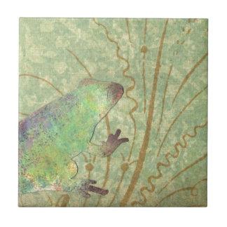 Feelin' Froggy Ceramic Tile