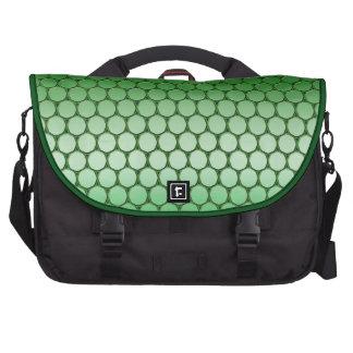 Feelin' Green - Dot Pattern Commuter Bags