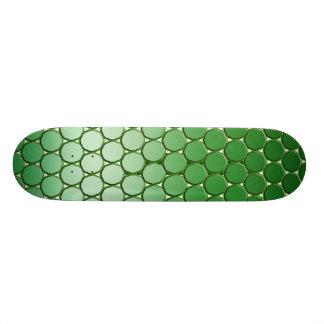 Feelin' Green - Dot Snake SkinPattern Skate Deck