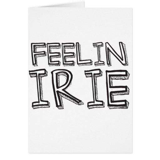 Feelin' Irie Card