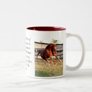 Feelin' It Two-Tone Coffee Mug