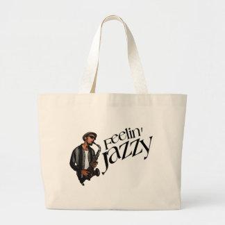 Feelin' Jazzy Canvas Bags