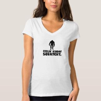 Feelin kinda Squatchy | Sasquatch Bigfoot T-Shirt