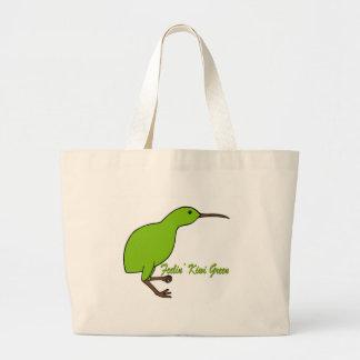 Feelin' Kiwi Green Bags