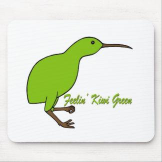 Feelin' Kiwi Green Mouse Pad