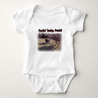 Feelin' Lucky Punk? Baby Bodysuit