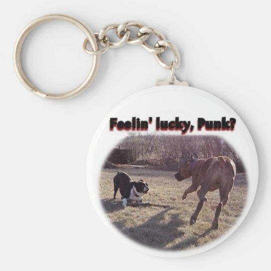 Feelin' Lucky Punk? Keychain