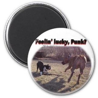 Feelin' Lucky Punk? Magnet