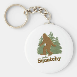 Feelin' Squatchy Keychain