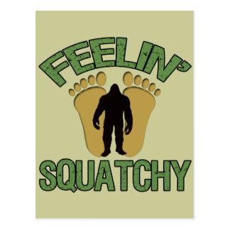 Feelin' Squatchy Postcard