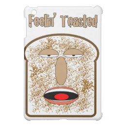 Feelin' Toasted cartoon toast iPad Mini Case