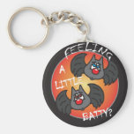 Feeling a Little Batty   Halloween Keychain