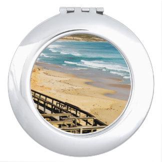 Feeling_Beachy_4_Ladies_Round_Compact-Mirror. Espejo Compacto