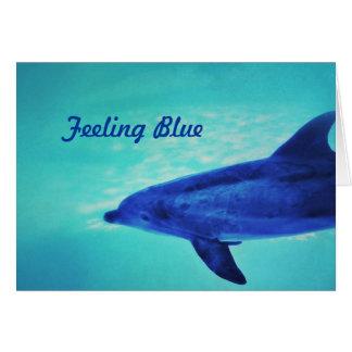 Feeling Blue Card
