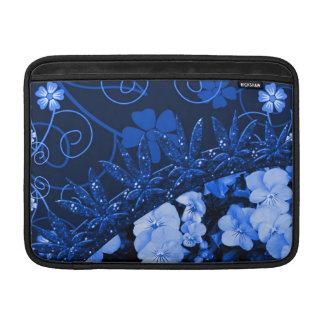 Feeling Blue Floral & Glitter MacBook Air Sleeves