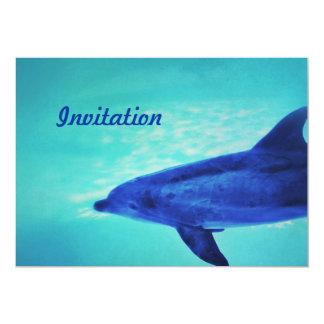 Feeling Blue Invitation